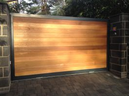 Double Gate- FDW6 Cedar wood infill