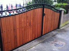 Double Gate - FDW1 Saplia Hardwood