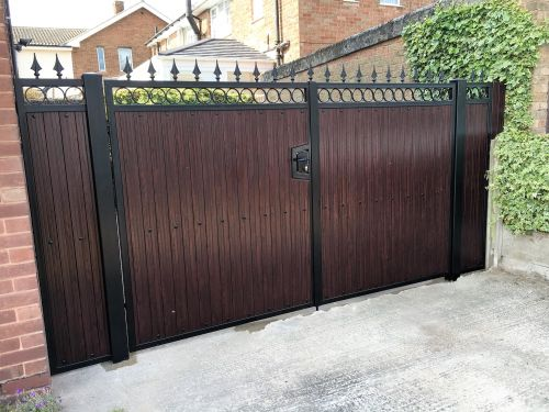 FDW6 Rose Wood UPVC